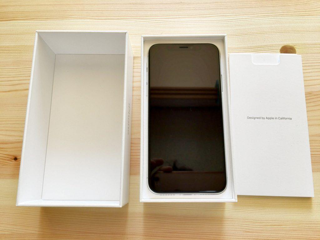 iPhone x 箱の開封