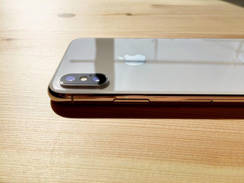 iPhone x カメラのレンズ