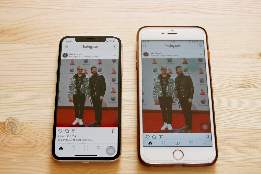 iPhone x 画像の綺麗さ