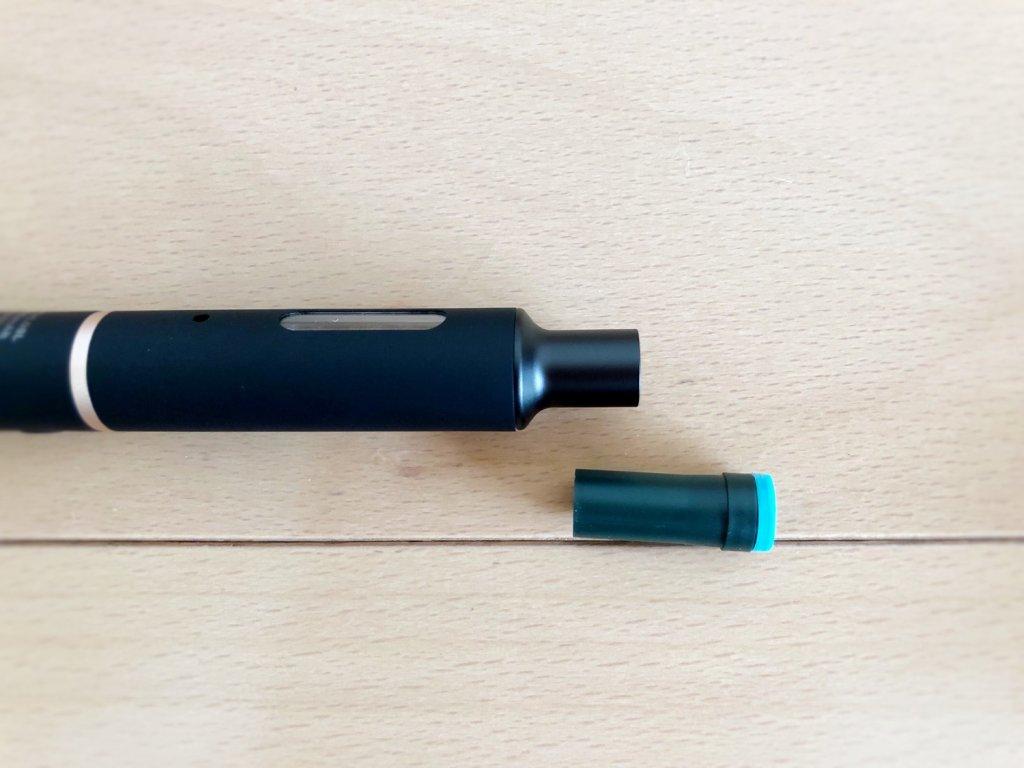 プルームテック・プラスの組み立て方・たばこカプセル