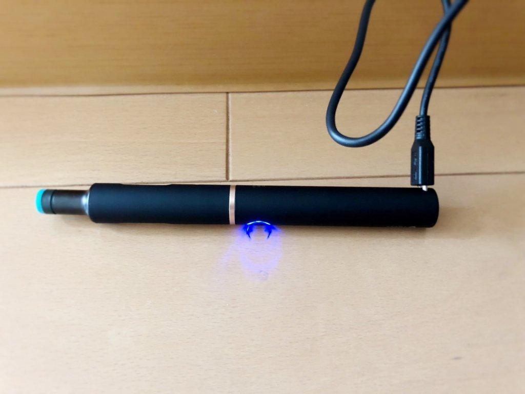プルームテック・プラスの充電のやり方