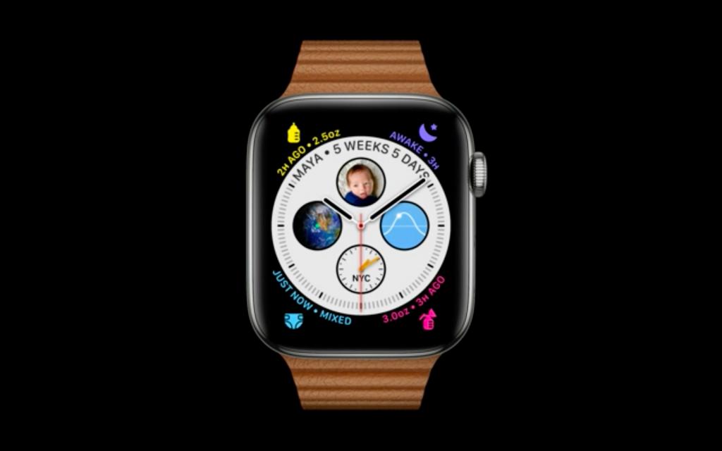 watchOS 7の文字盤