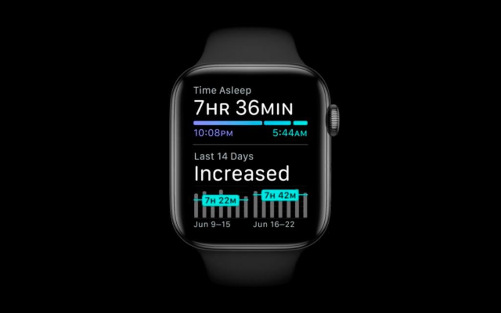 watchOS 7の睡眠管理機能の概要