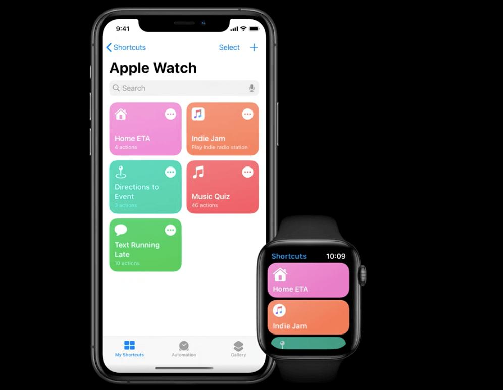 Apple watch watchOS ショートカットアプリ
