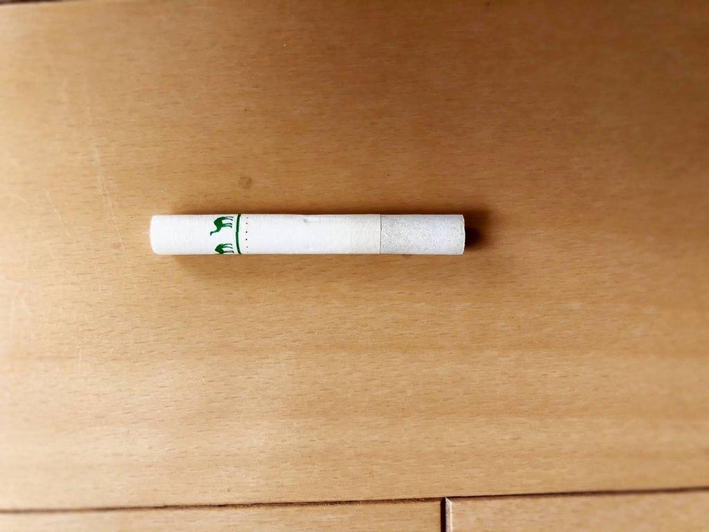 プルーム・エスで吸った後の吸い殻