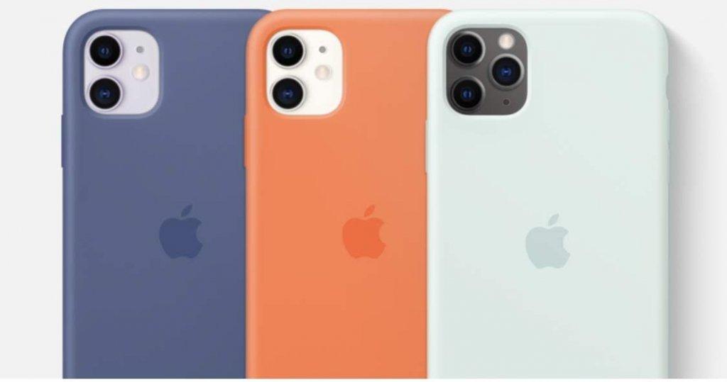 Apple純正iPhoneシリコーンケース新カラーモデル