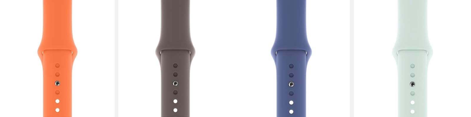 Apple Watchスポーツバンド新カラー