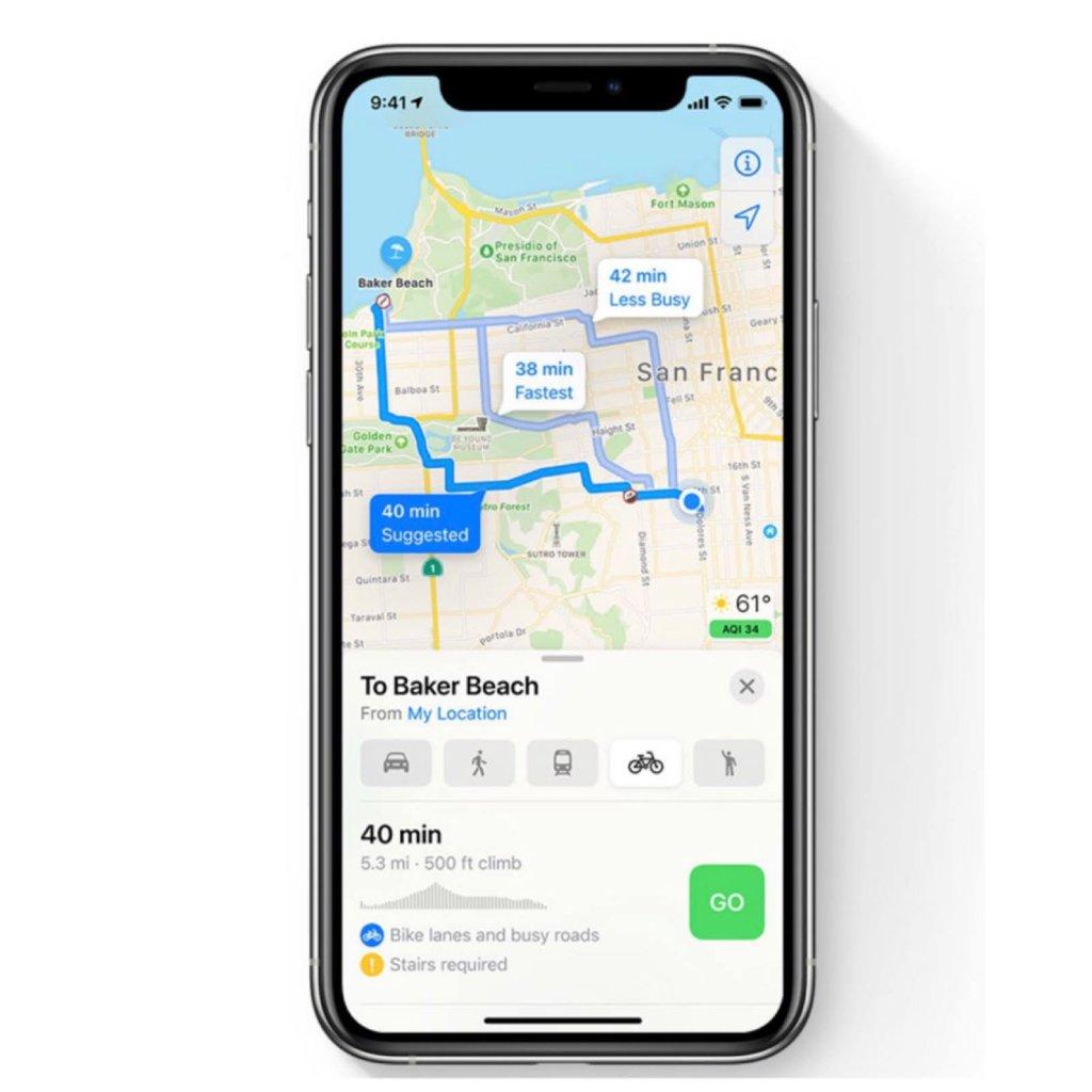 iOS14マップ機能