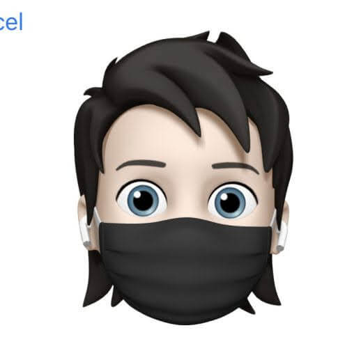 iOS14のミー文字のマスクデザイン変更