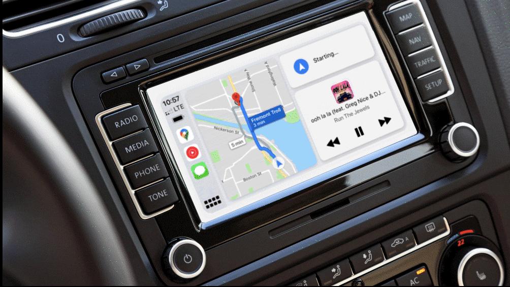 「Googleマップ」アプリをAppleの「CarPlay ダッシュボード」に対応
