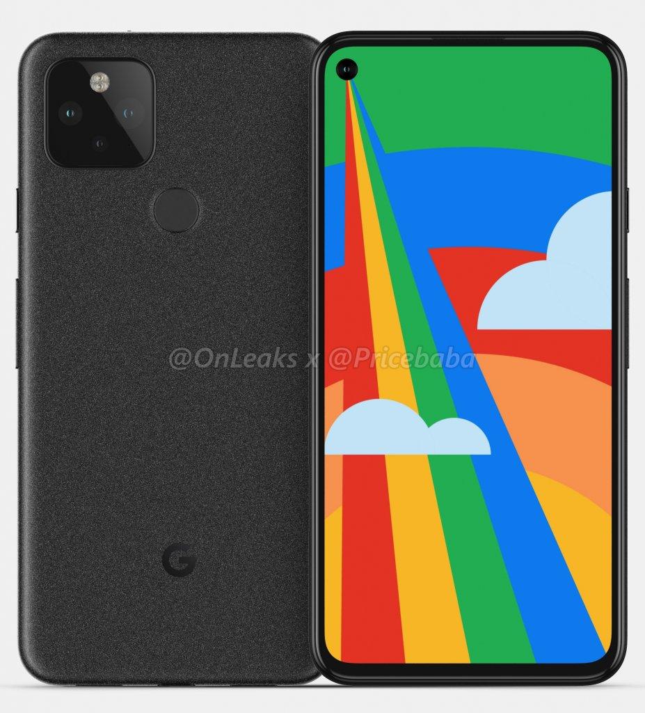「Pixel 5」のレタリング画像