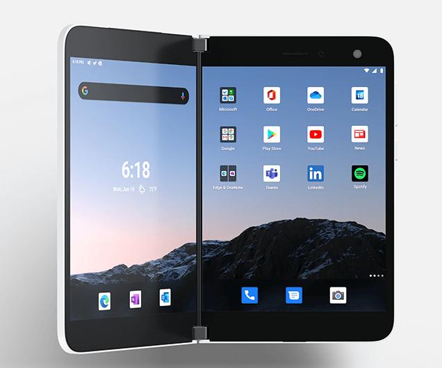 Surface Duo 発売開始