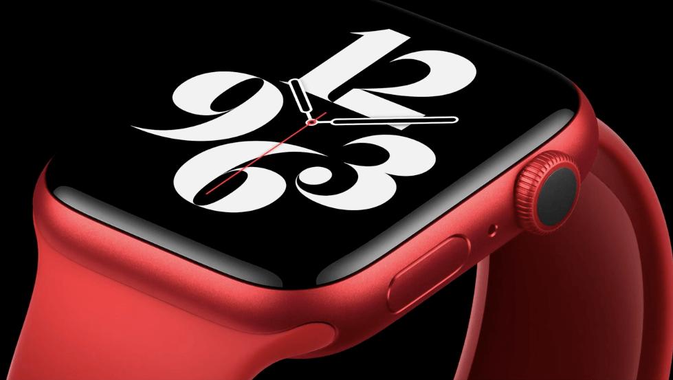 Apple Watch Series 6 新カラー レッド