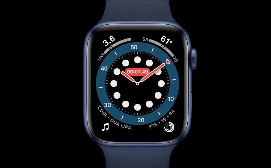 Apple Watch Series 6 新カラー ブルー