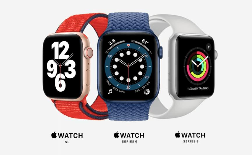 Apple Watch シリーズ一覧