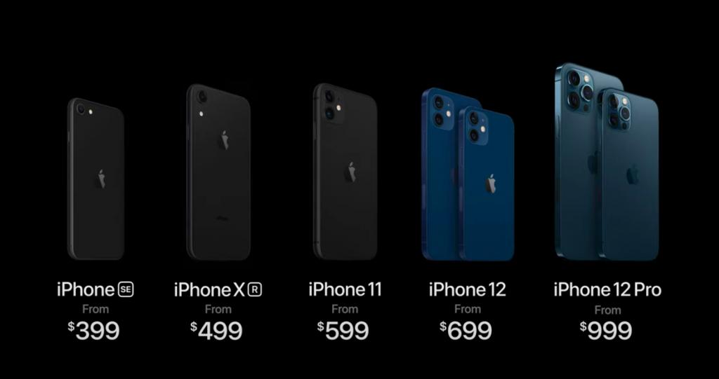 iPhone 12 一覧