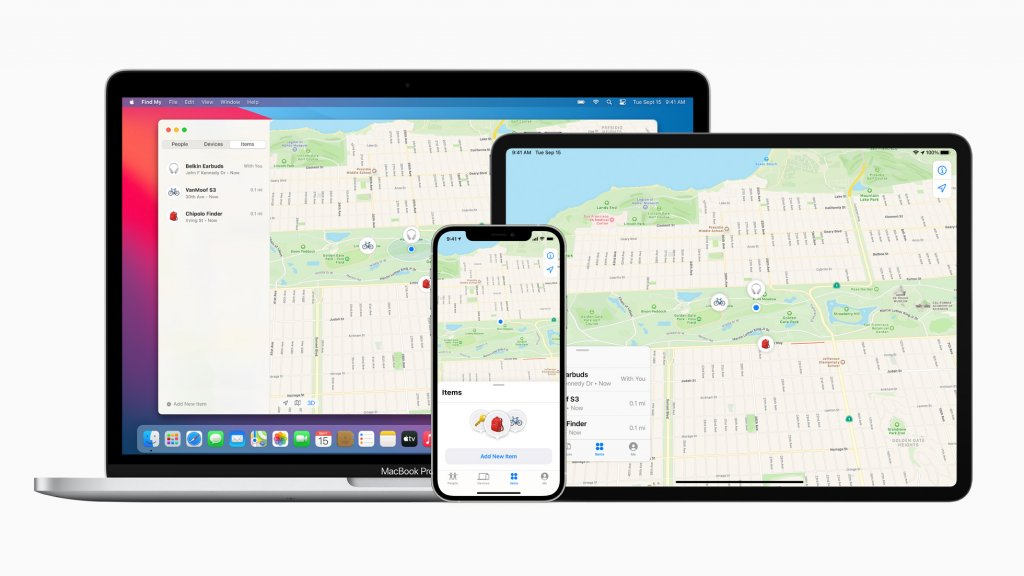 Apple 他社製品も利用可能になった探すアプリ
