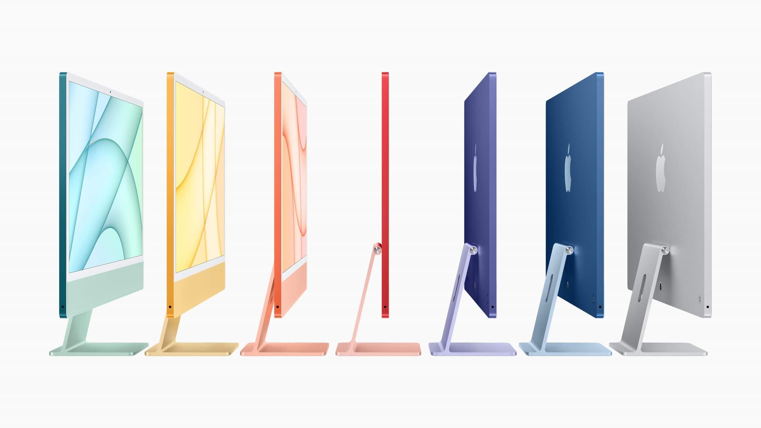 新型iMacカラー展開