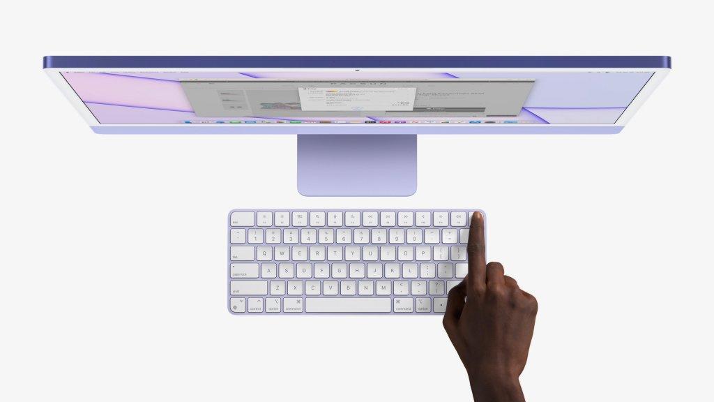 新型iMac Magic Keyboard