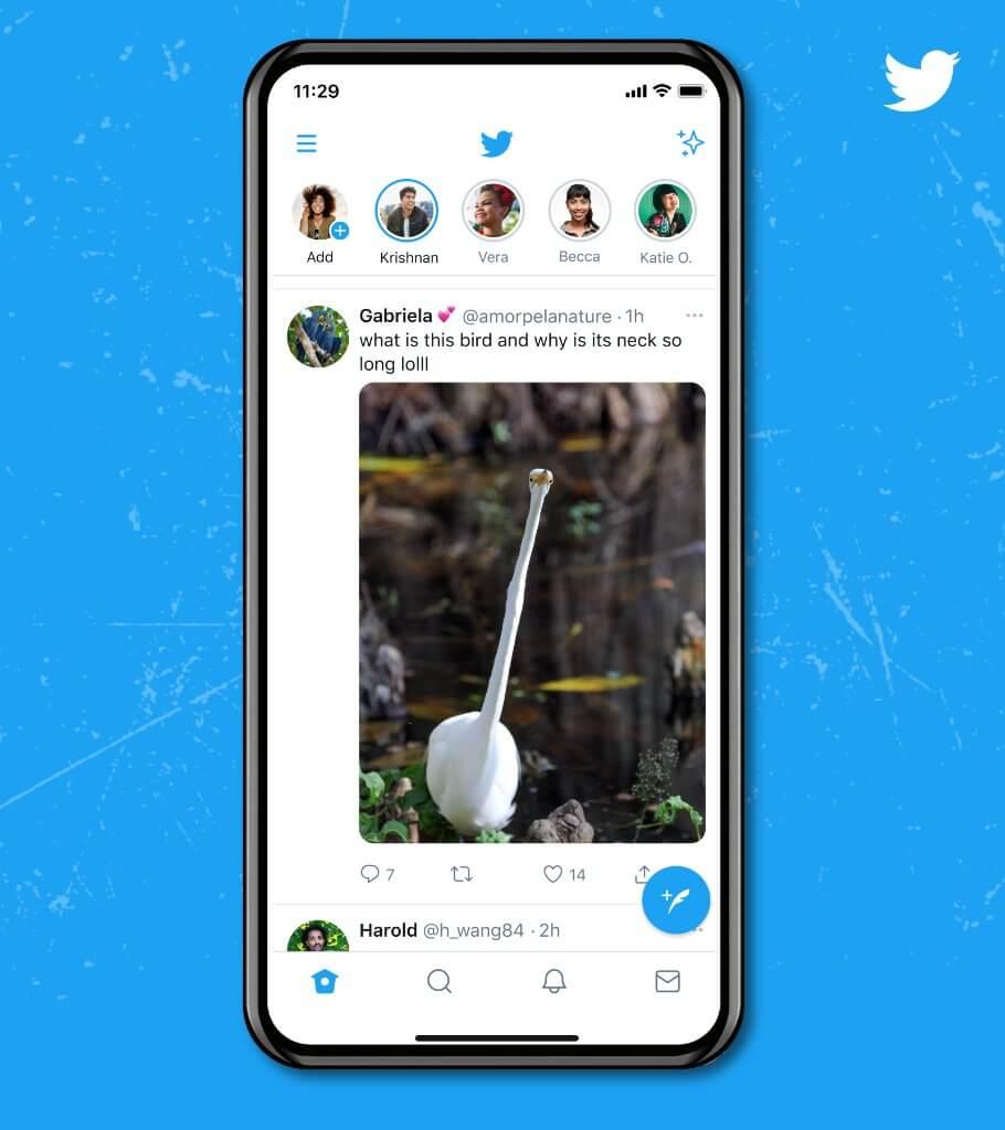 Twitter 全画面表示