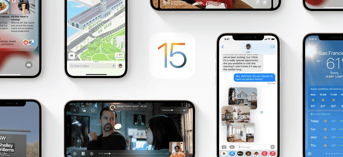 iOS15の特徴まとめ