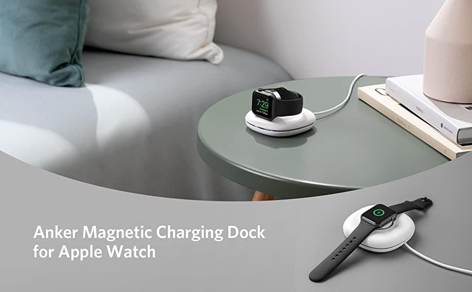 Anker Magnetic Charging Dock for Apple Watch特徴