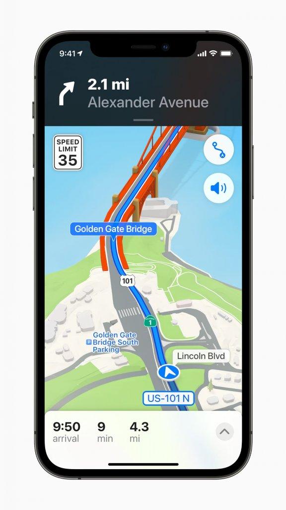 iOS15 のマップのプレビュー