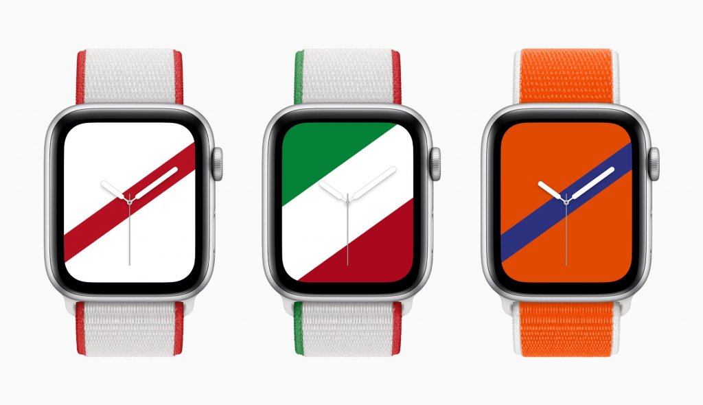 「Apple Watch」用バンドの新モデル「インターナショナルコレクションスポーツループ」画像