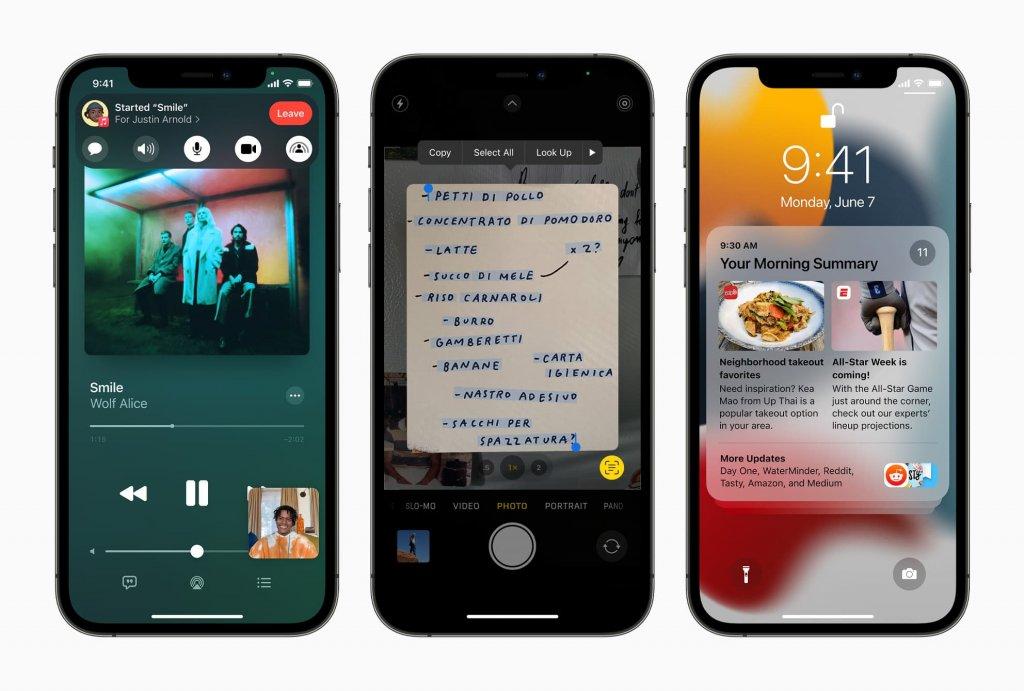 iOS15の概要