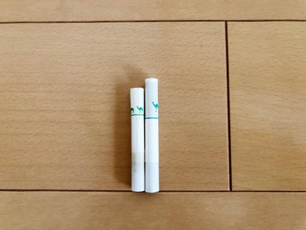 プルーム・エス用タバコスティックのリニューアル  タバコスティック比較
