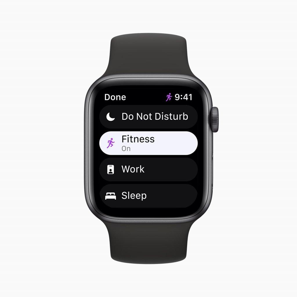 watchOS 8の新機能 集中モード