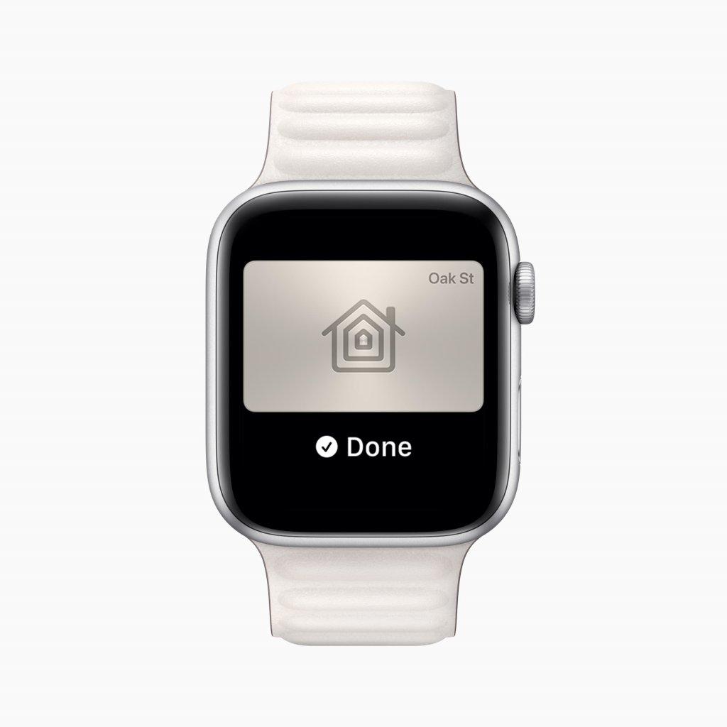 watchOS 8の新機能 ウォレット