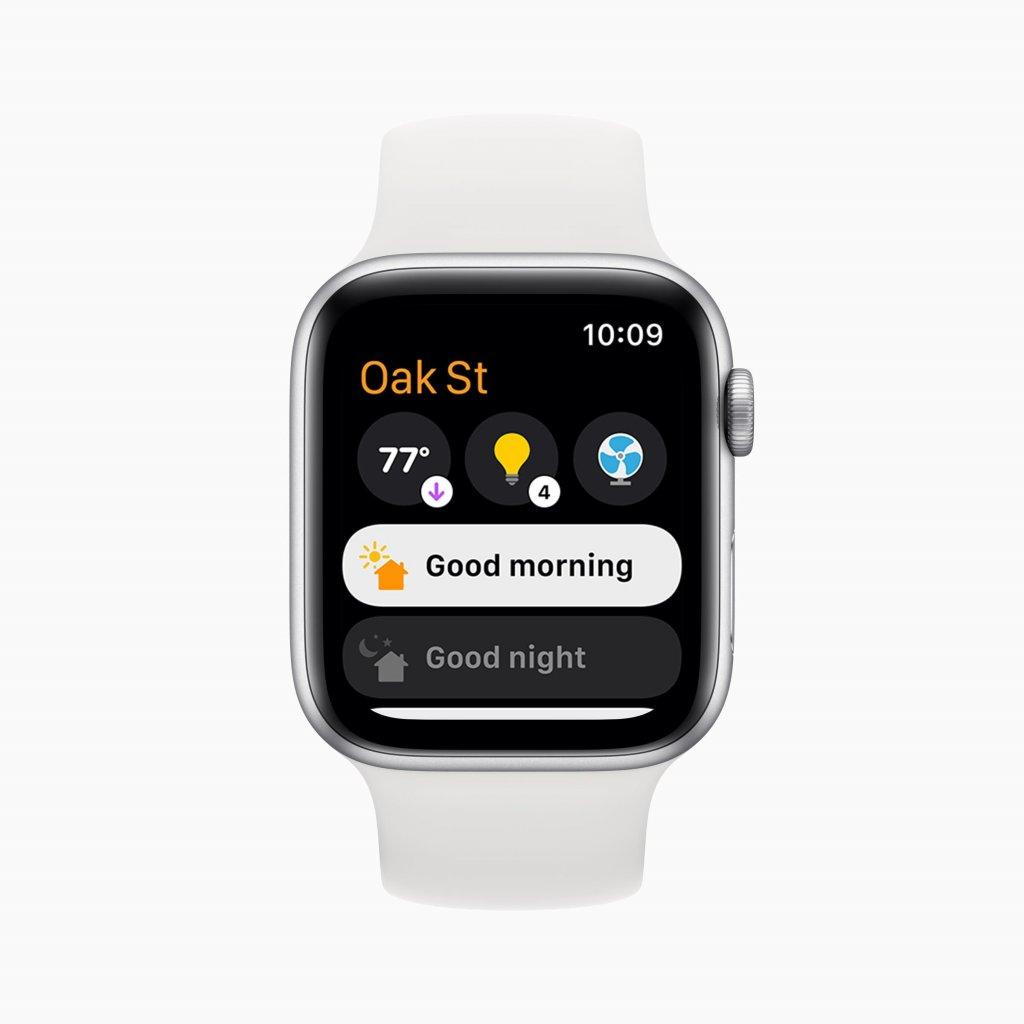 watchOS 8の新機能 ホームアプリ