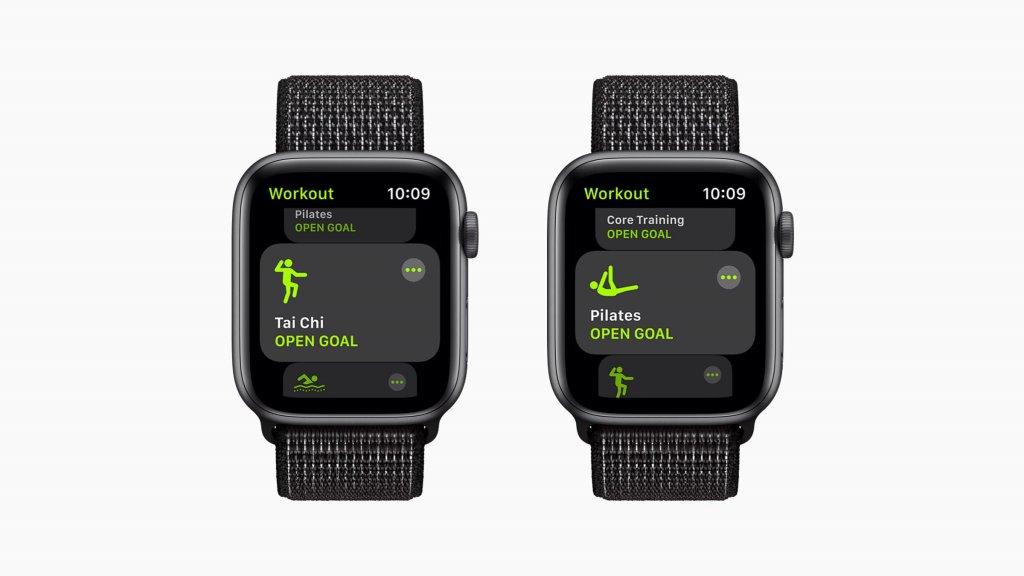 watchOS 8の新機能 ワークアウト追加