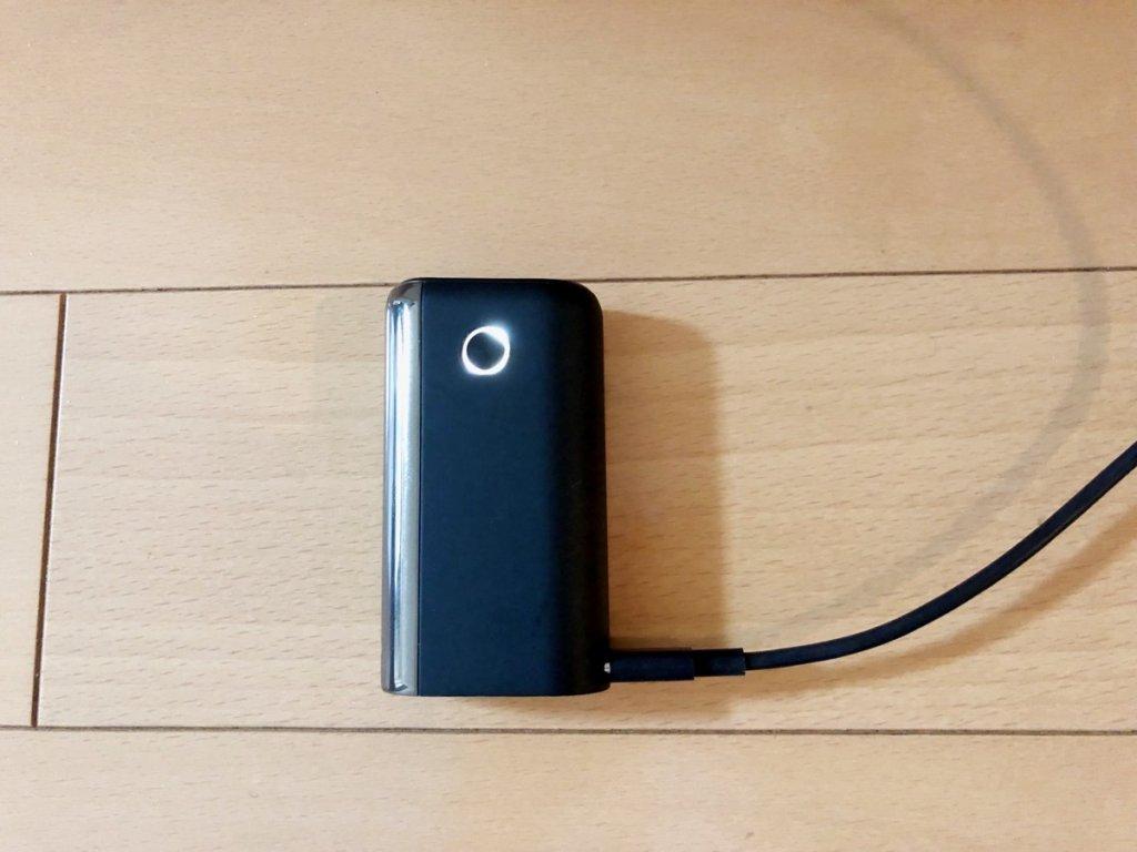グロー・ハイパー・プラス 充電方法