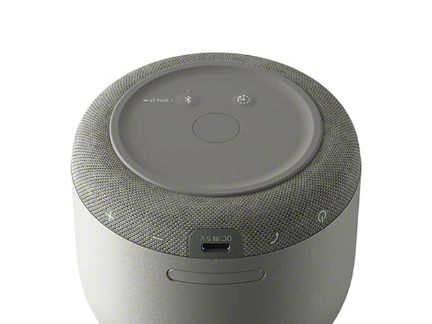 ソニー Bluetooth対応のグラスサウンドスピーカー「LSPX-S3」底面